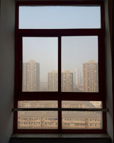View from bedroom window training center.jpg