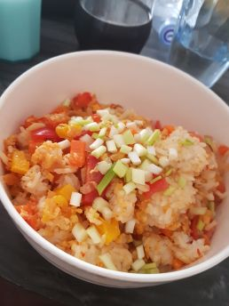 My egg fried rice